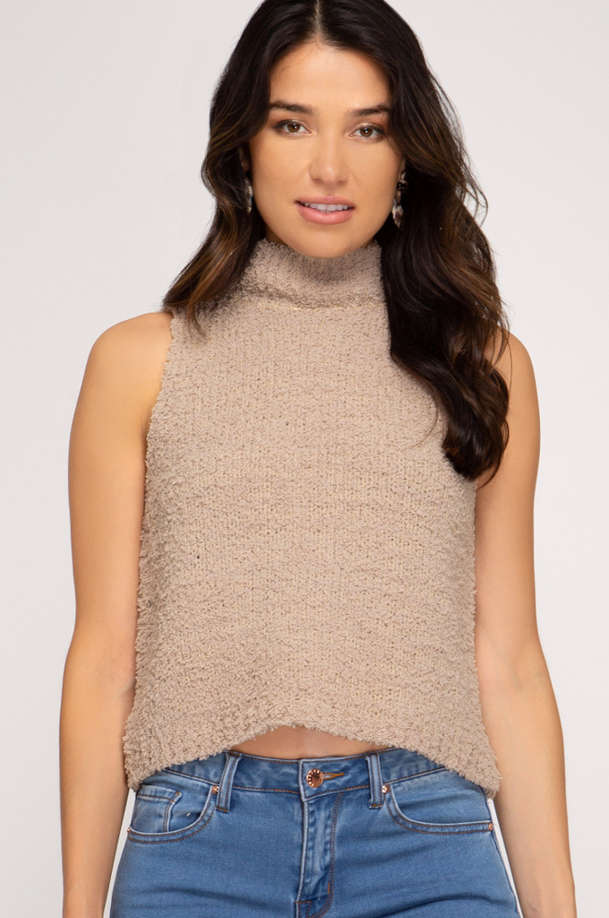 On Cloud Nine Sweater Tank- SL6248R