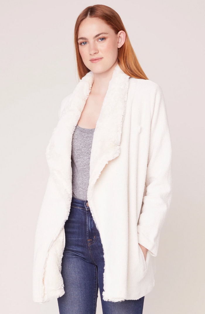 Jack In The Mix Drape Front Jacket- JJ302929