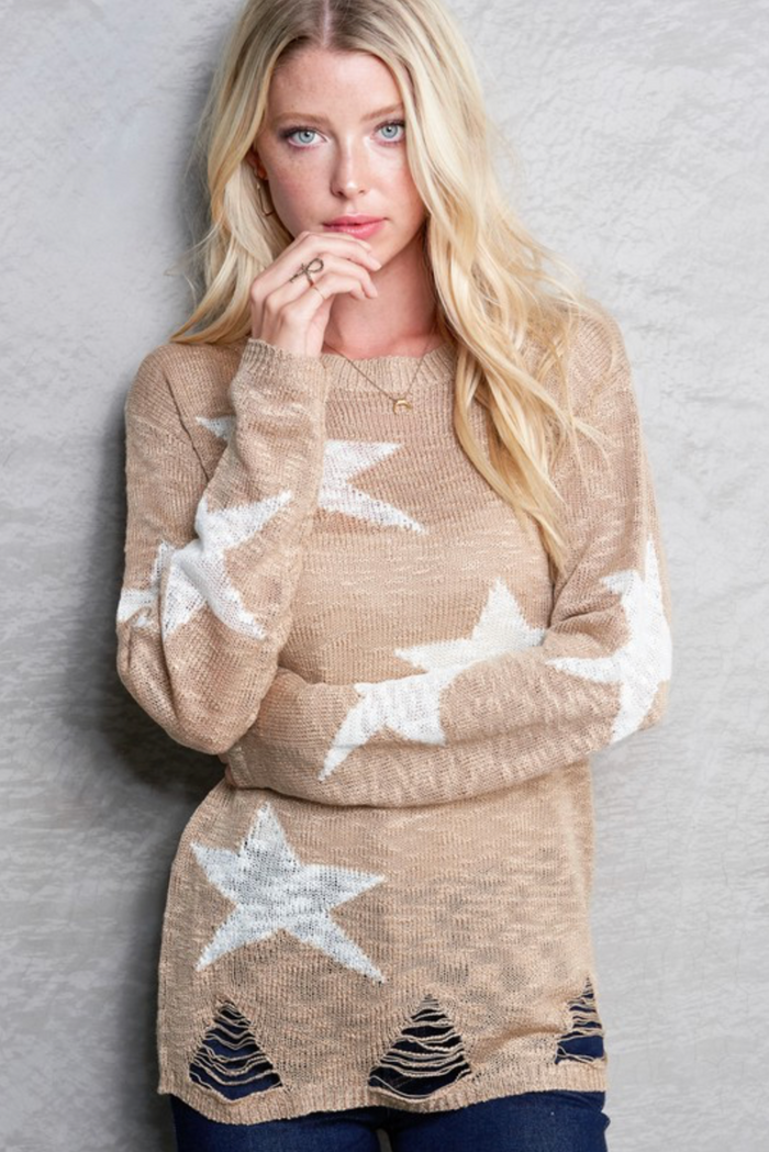 Shooting Star Sweater- MLS1036-A5