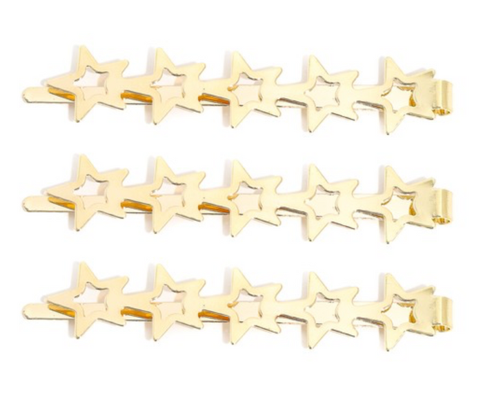 Holiday Star Hair Pins