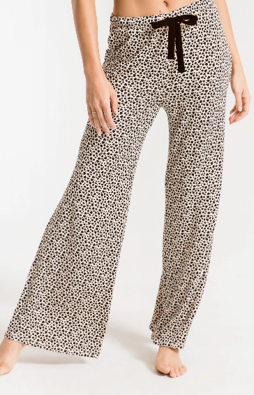 Z Supply Mini Heart Wide Leg Pant- ZP2015255