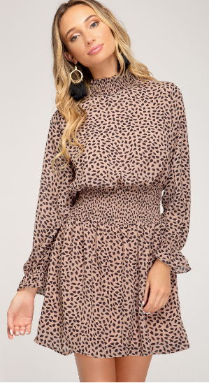 Believe It Or Spot Dress- SS2611