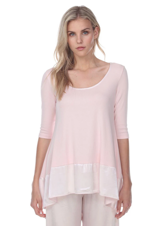 PJ Harlow Kiki 3/4 Sleeve Swing Top