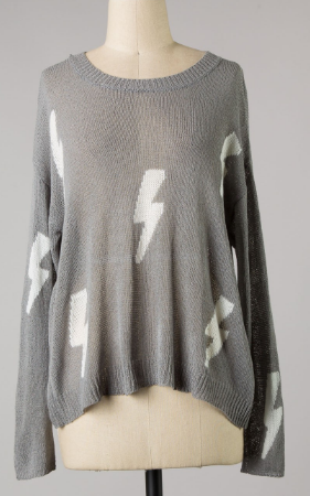 High Voltage Sweater- JT2534