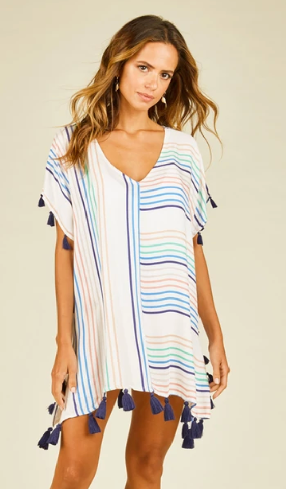Candy Stripe Cover-up