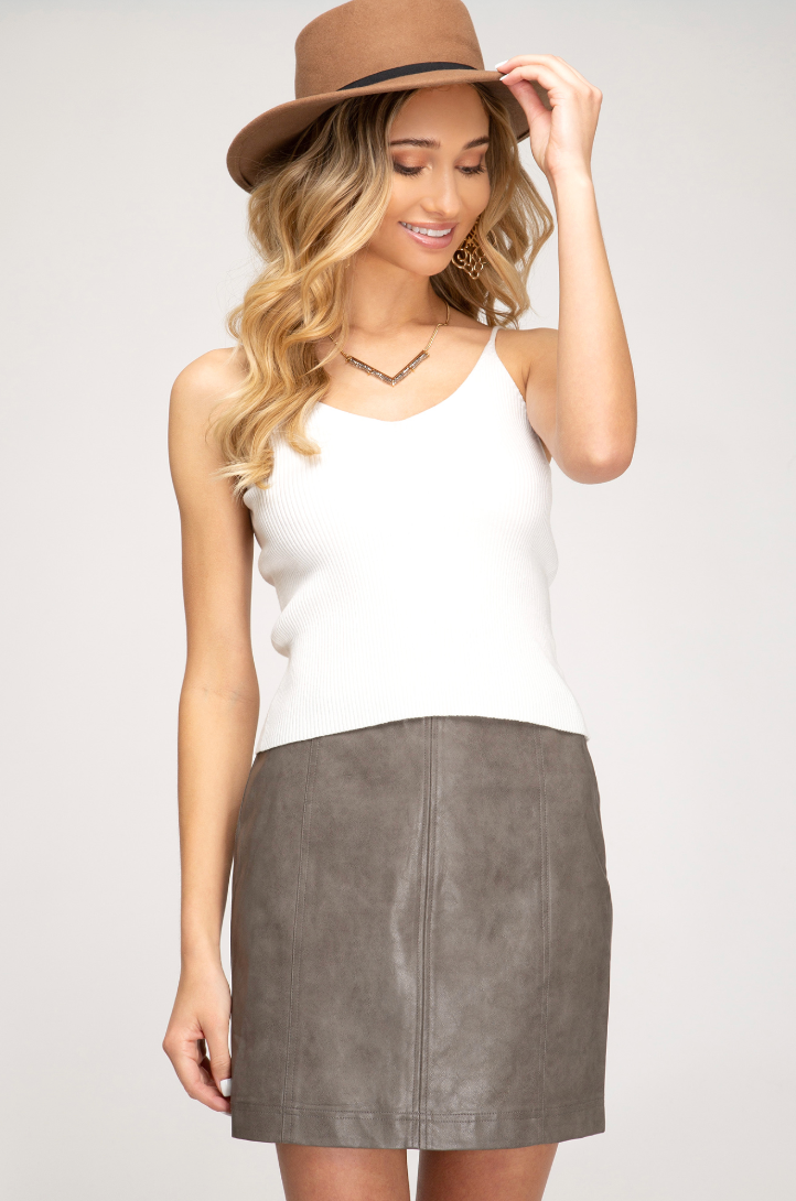 Work To Play Skirt