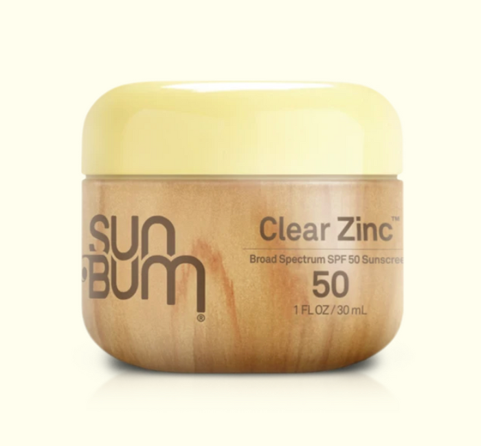 Sun Bum SPF 50 Clear Zinc 1oz