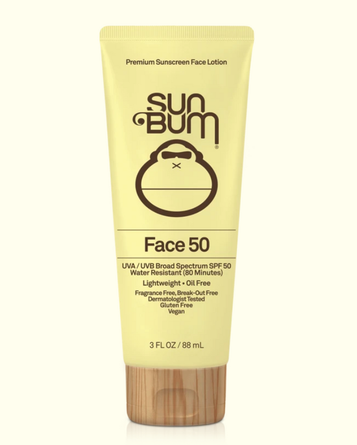 SPF 50 Clear Face Sunscreen Lotion 3oz