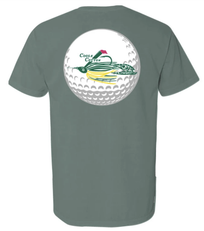 Coosa Cotton- Spring Traditions Pocket Tee Shirt