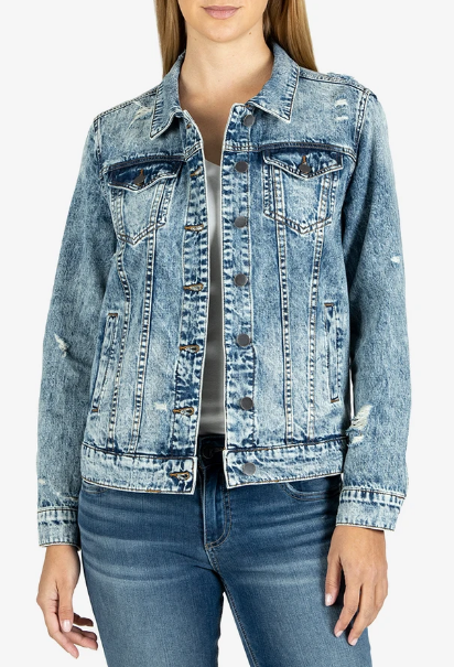 Kut From The Kloth Emma Boyfriend Jacket