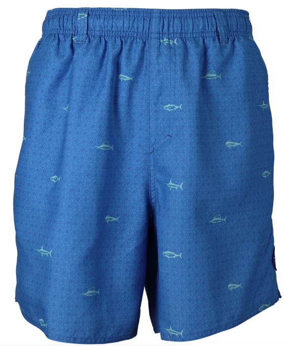 Aftco Men Swim Sidecaster Swim Trunks
