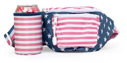 Southern Shirt Company Front Row Fanny Pack- Team America