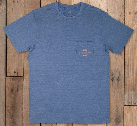 Southern Marsh FieldTec Heathered Tee Shirt- Outfitter