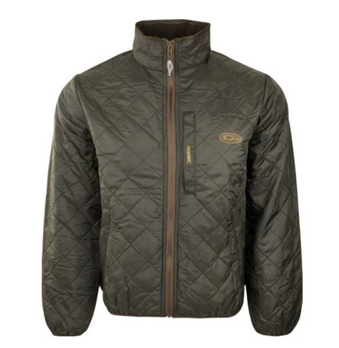 Drake Fleece Lined Quilted Jacket