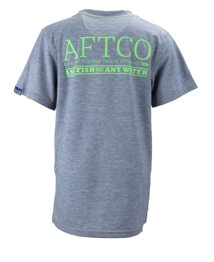 Aftco Youth Anytime S/S Performance Tee