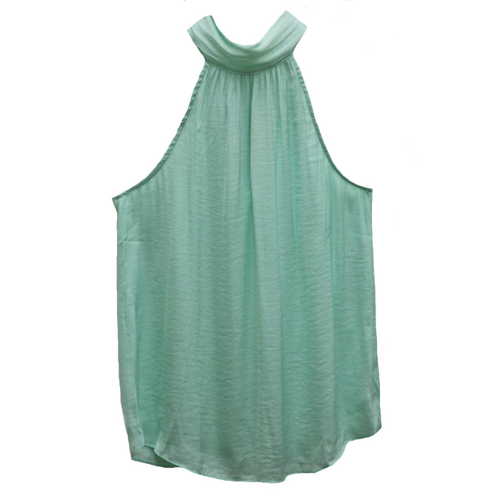 Seas The Day Mock Neck Top-Soft Sage- ST110573-SOF