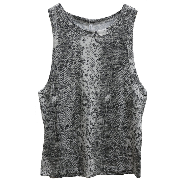 Z Supply Snakeskin Muscle Tank- ZT192119- GRC