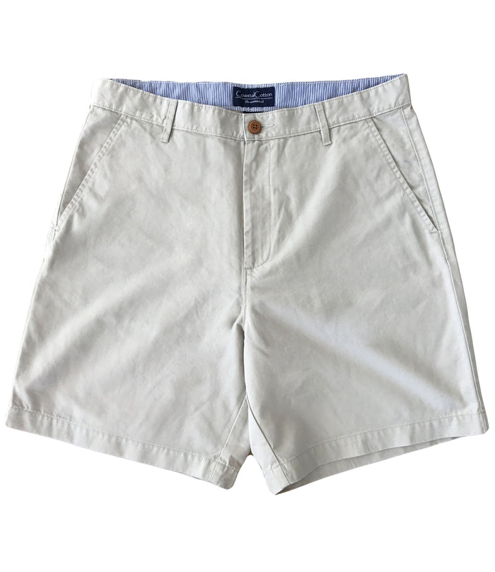 Coastal Cotton Island Short- Stone