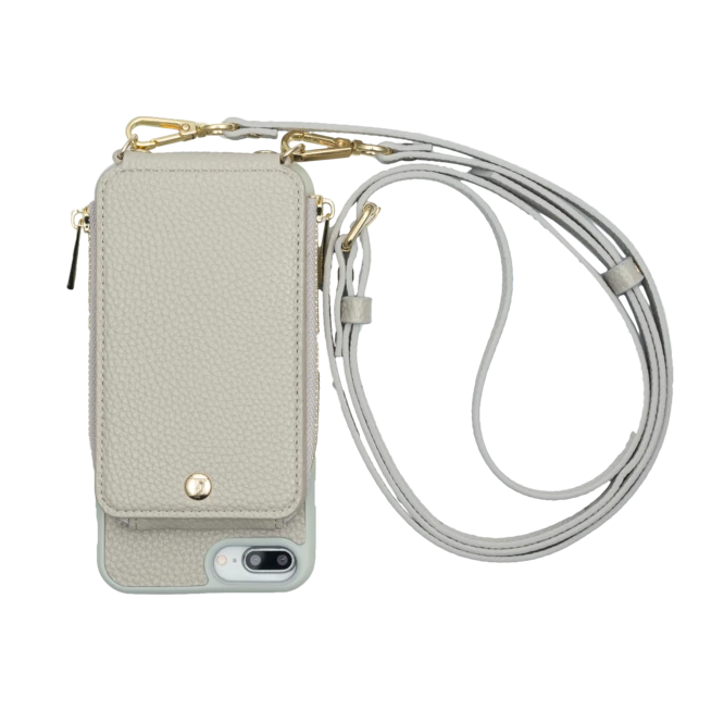 Iphone 6+/7+/8+ Crossbody- Grey- TK-MP-IP678PLUS-GY