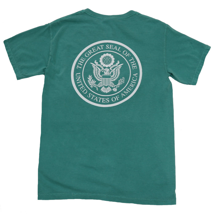 The State Company USA Seal Tee- Seafoam- USA SEAL S/S- SEA