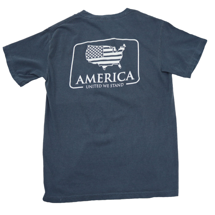 The State Company American Patch Tee- Navy- AMERICAN PATCH S/S- NVY
