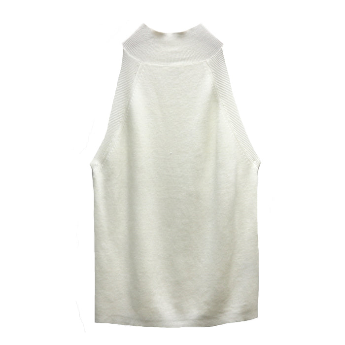 Summer Dreams Sleeveless Sweater- Ivory- 21772- IVY