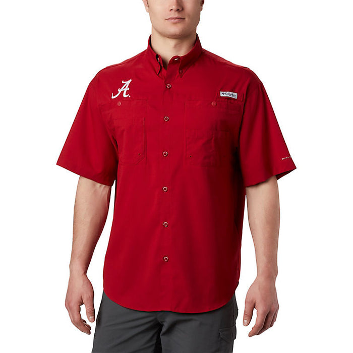 Columbia Collegiate Tamiami Button Down- XM7417-678- Red