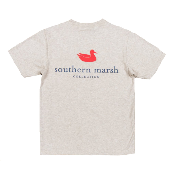 Southern Marsh Authentic Youth Tee- Washed Oatmeal