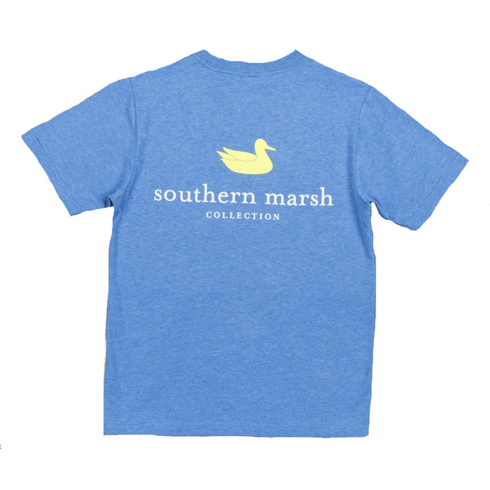Southern Marsh Authentic Youth Tee- Washed Oxford