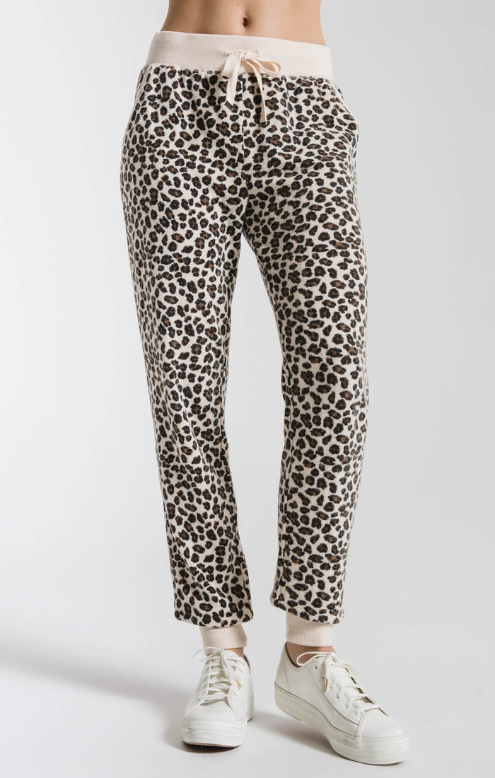 Z Supply Brushed Leopard Jogger- ZP191917