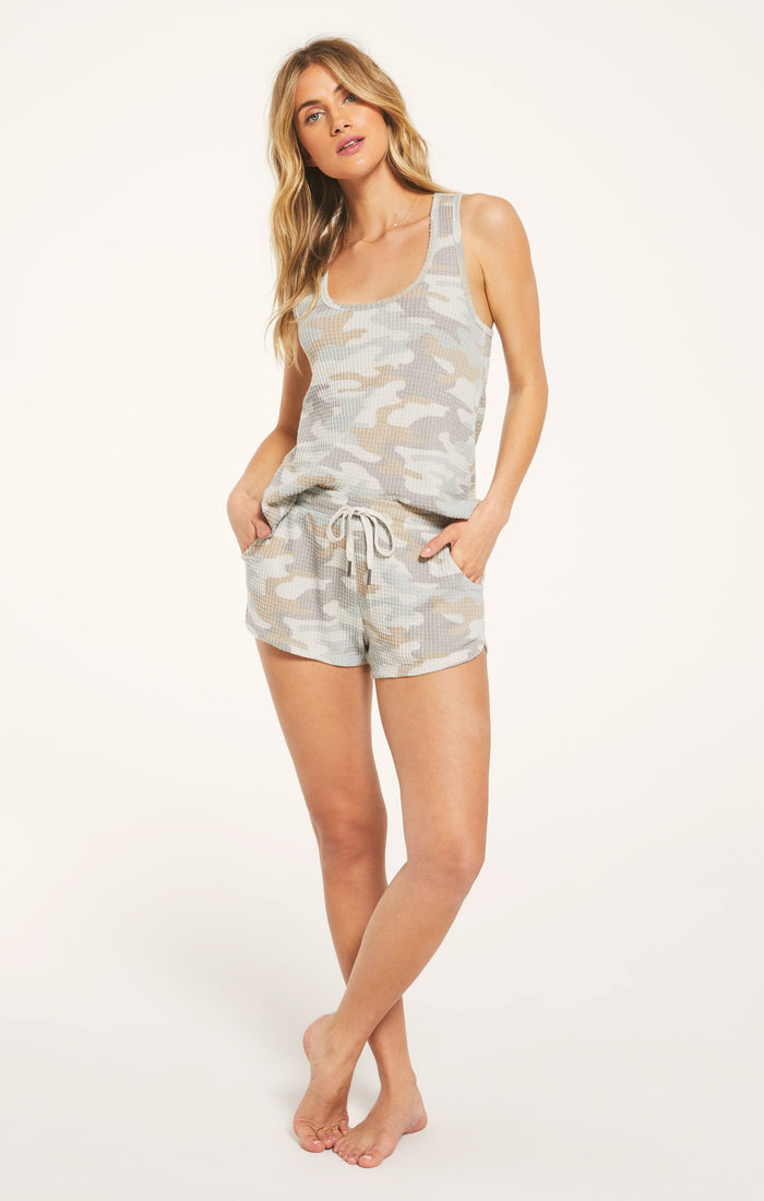 Z Supply Lounge Nikki Camo Short