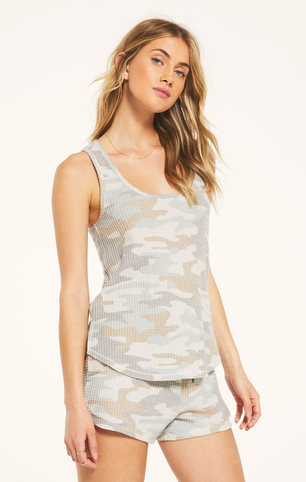 Z Supply Lounge Tia Camo Tank