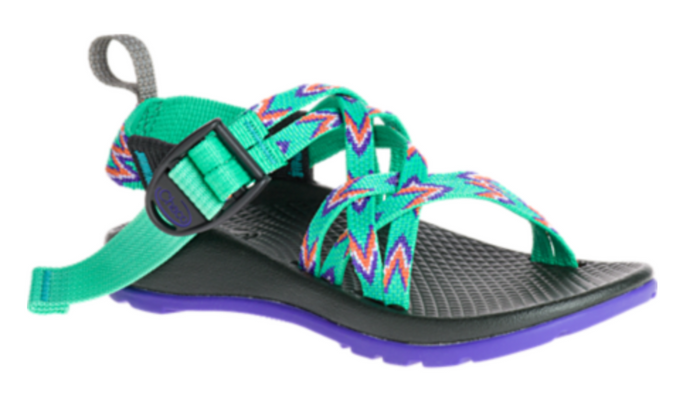 Kid's Chaco ZX1 Ecotread- Mint Leaf