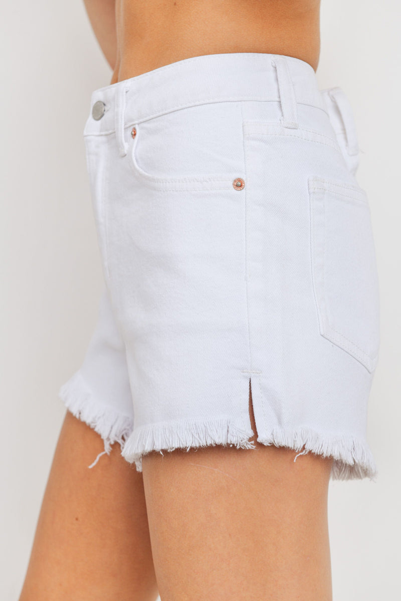 Just USA High Rise Clean Cut Short- JH213