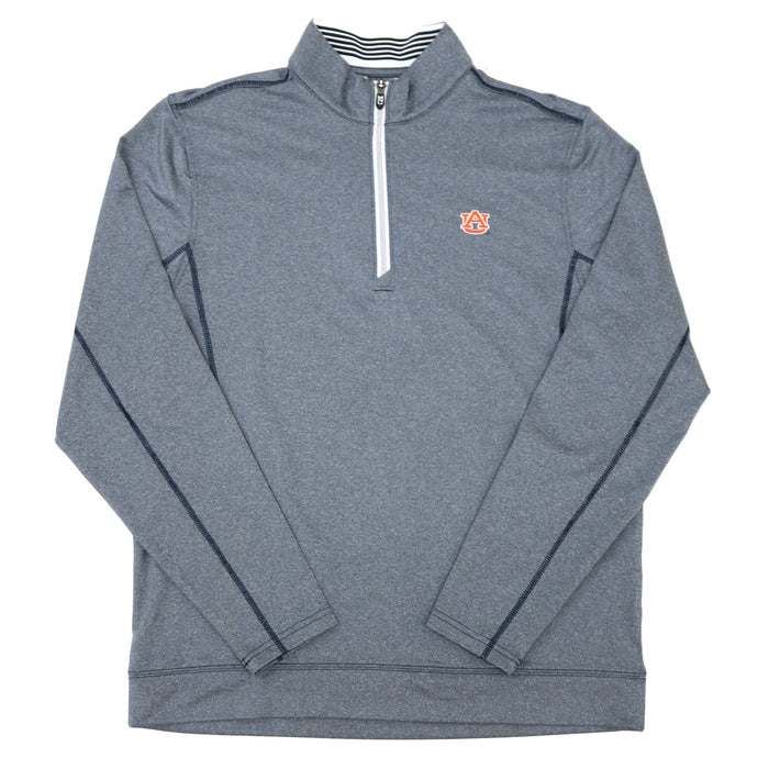 CUTTER & BUCK Pullover Auburn Logo- Heather Navy - MCK00015LNH-AU