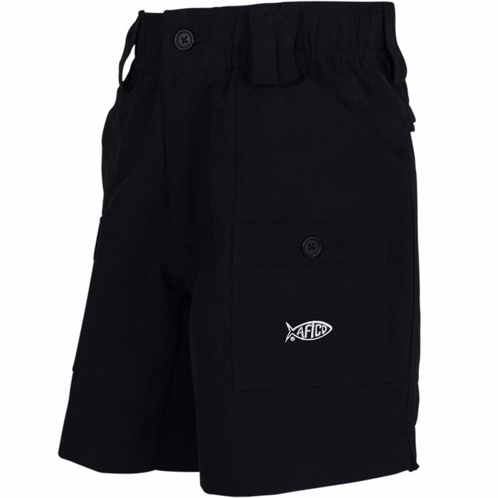 Boy's Aftco Short- Black