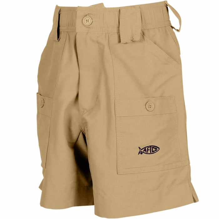 Boy's Aftco Short- Khaki