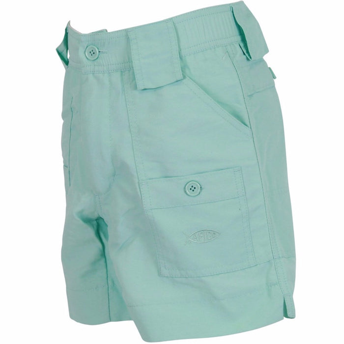 Boy's Aftco Short- Mint
