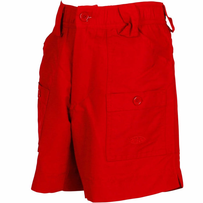 Boy's Aftco Short- Red