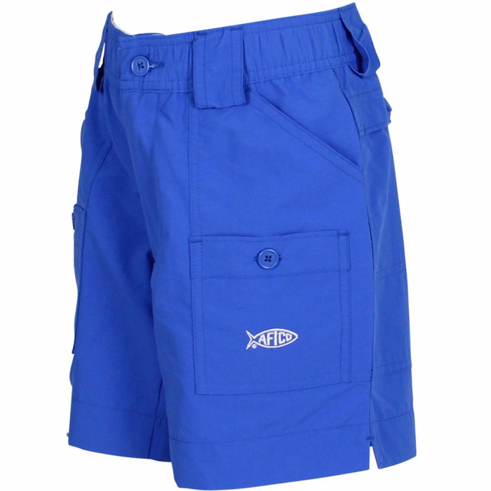 Boy's Aftco Short- Royal