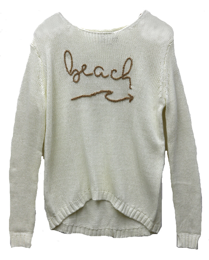 The Beach Is Calling Sweater