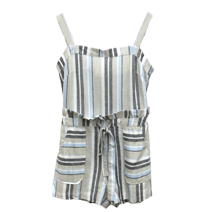 Beach Please Romper- JR1979-MUL