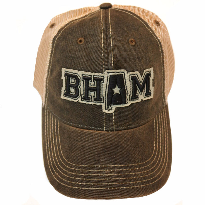 Southern Fried Creative BHAM Trucker Hat- Black