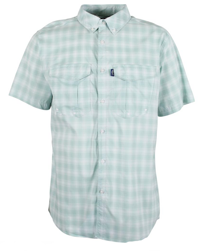 Aftco Bionic S/S Tech Shirt- Moonstone