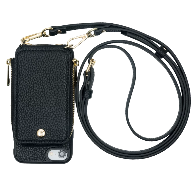 Iphone 6/7/8 Crossbody- Black- TK-IP678-BK