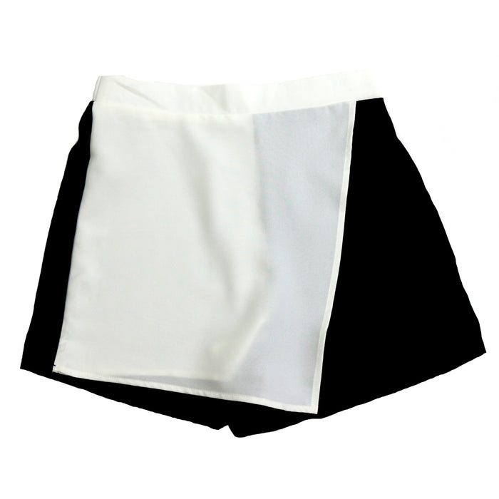 Better In Black And White Skort  - CP8917-BLK