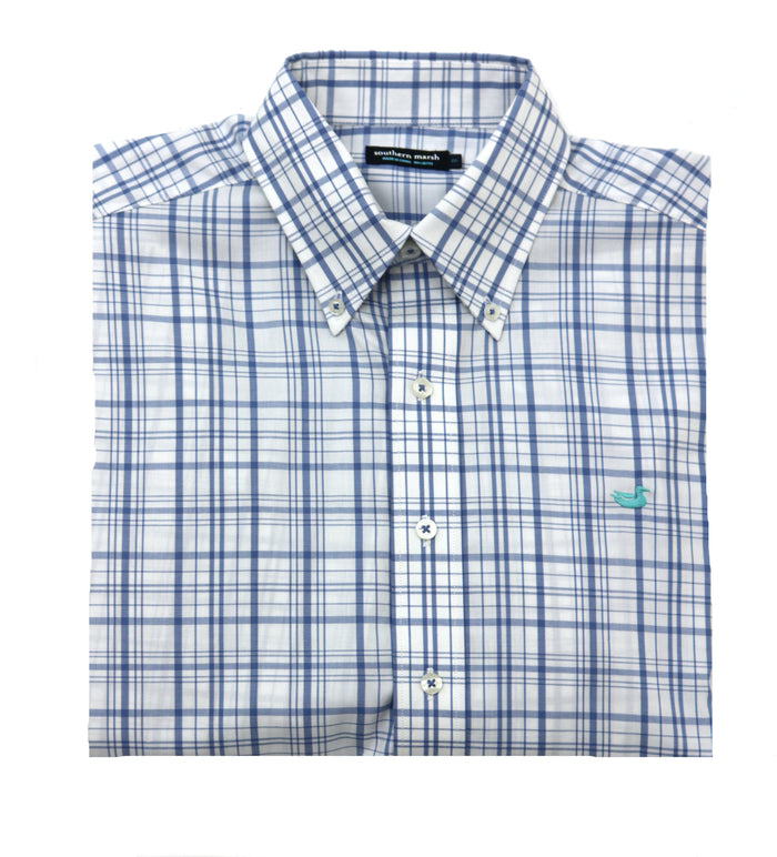 Southern Marsh Bayonet Twill Button Down