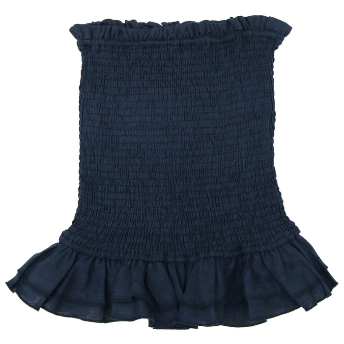 Here For It Skirt- Navy- 19-643LSJ/NVY