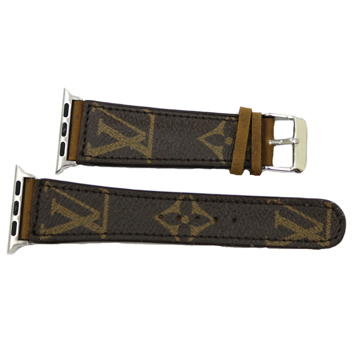 Repurposed Louis Vuitton 42mm Watchband- Classic