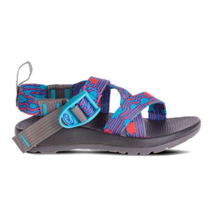 Kid's Chaco Z1 Ecotread- Bubble Teal- J180254-BUB